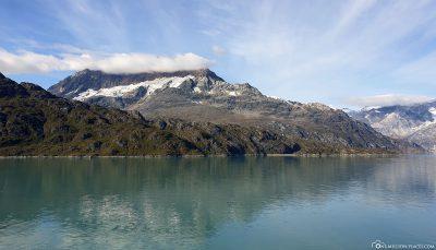 Ankunft beim Lamplugh Gletscher