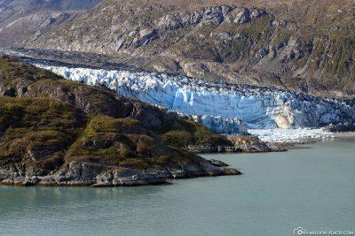 Der Lamplugh Gletscher