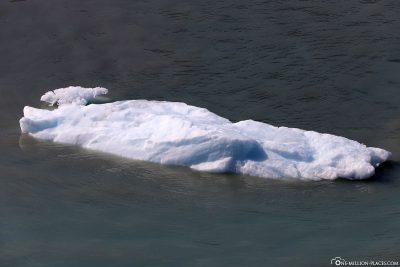 Eine kleine Eisscholle