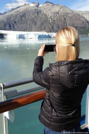 View of the Margerie Glacier
