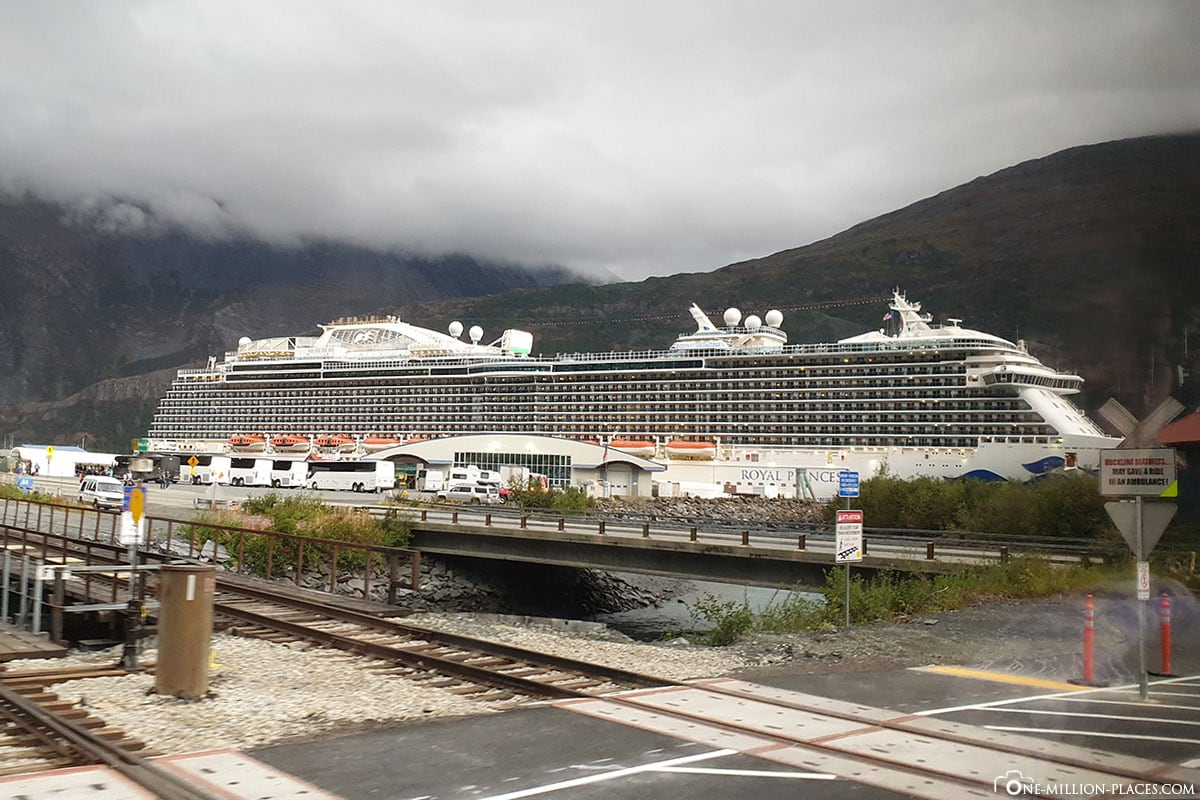 Royal Princess, Whittier, Alaska, USA, Hafen, Reisebericht