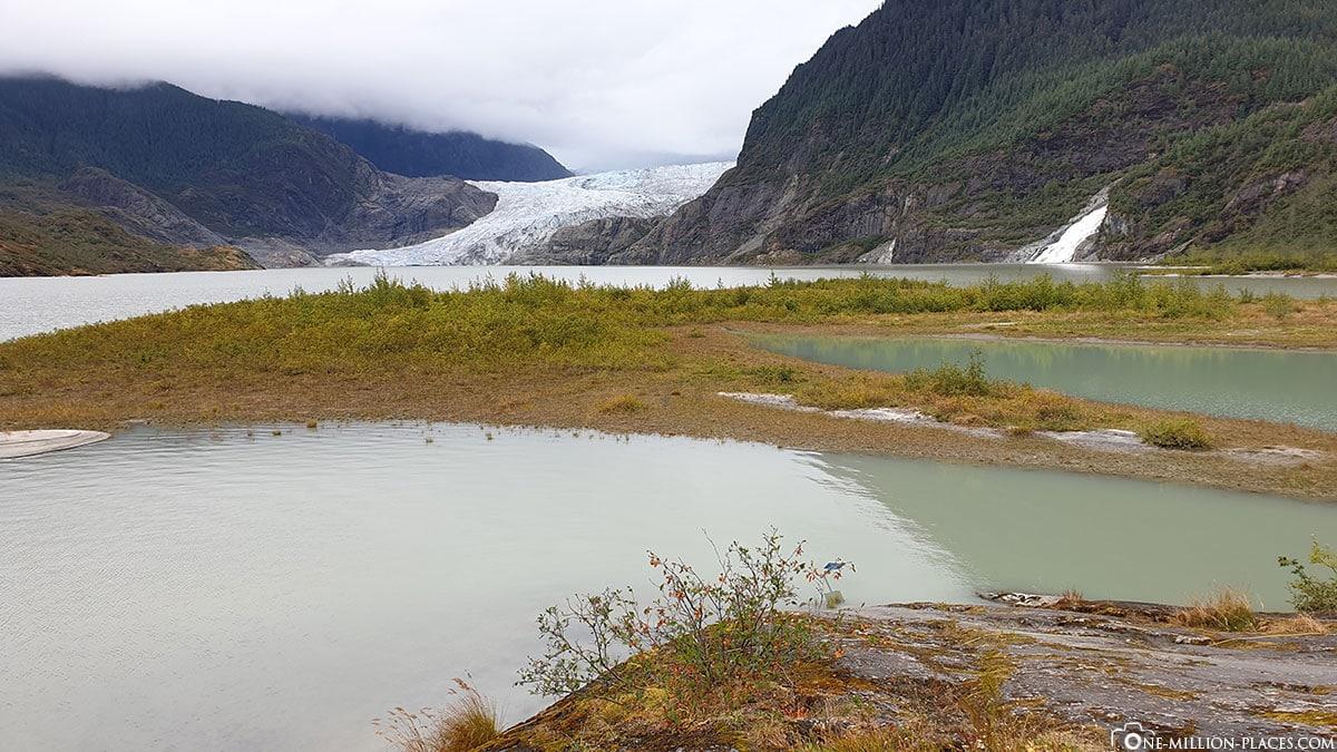 Gletscher Juneau, Mendenhall, Kreuzfahrt, Tagesausflug, Princess, Alaska, USA, Reisebericht
