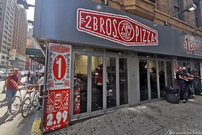 2 Bros. Pizza inManhattan