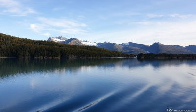 Drive through Prince William Sound