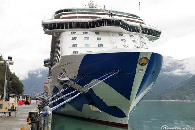 Unser Kreuzfahrtschiff