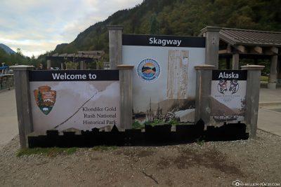 Willkommen in Skagway