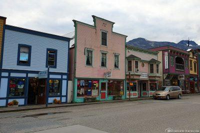 Die tollen Häuser in der kleinen Stadt