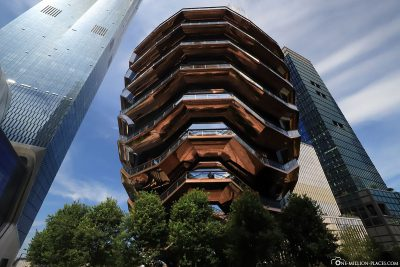 The Hudson Yards with the Vessel