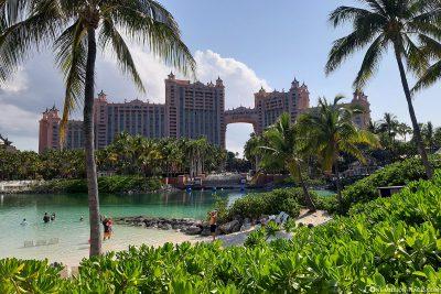 View of the Hotel Atlantis