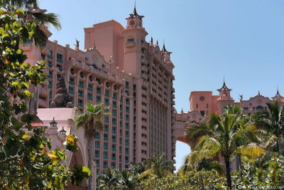 Der Royal Tower vom Hotel Atlantis