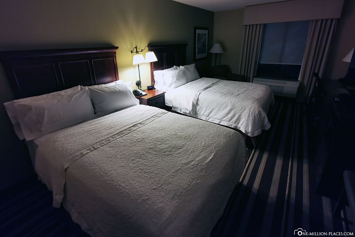 Hotel, Hampton Inn Washington-Dulles Int'l Airport South, Reisebericht, Erfahrung