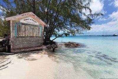 Conch Stand auf Stocking Island