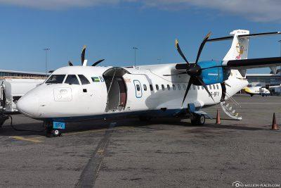 Bahamasair Machine ATR 42