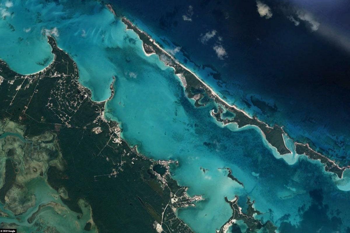Stocking Island, Karte, Bahamas, Reisebericht