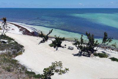 Der Strand im Bahia Honda State Park