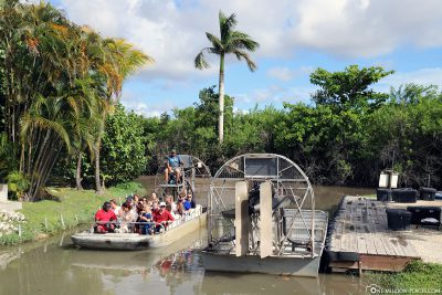 The end of the Airboat Tour