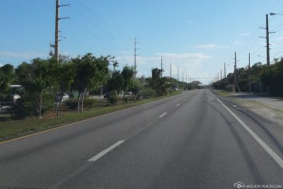 Der Overseas Highway U.S. 1