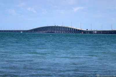 Die Seven Mile Bridge des Overseas Highway