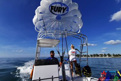 Parasailing mit Fury Water Adventures