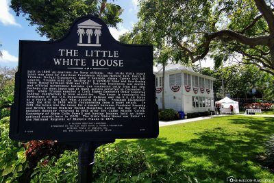 Das Little White House in Key West