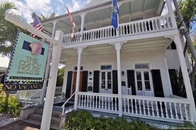 The great houses in Key West