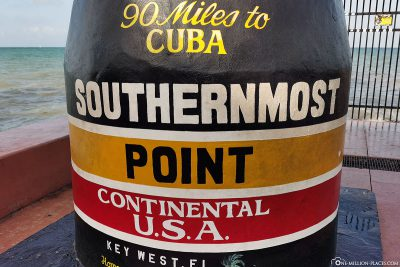 The southernmost point of the continental United States