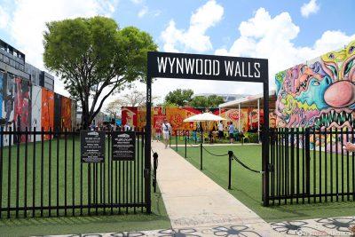 Eingang Wynwood Walls