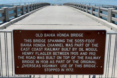 Die abgesperrte Brücke