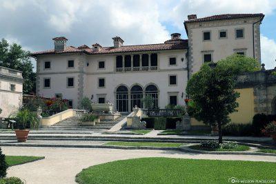 Die Villa Vizcaya von  James Deering