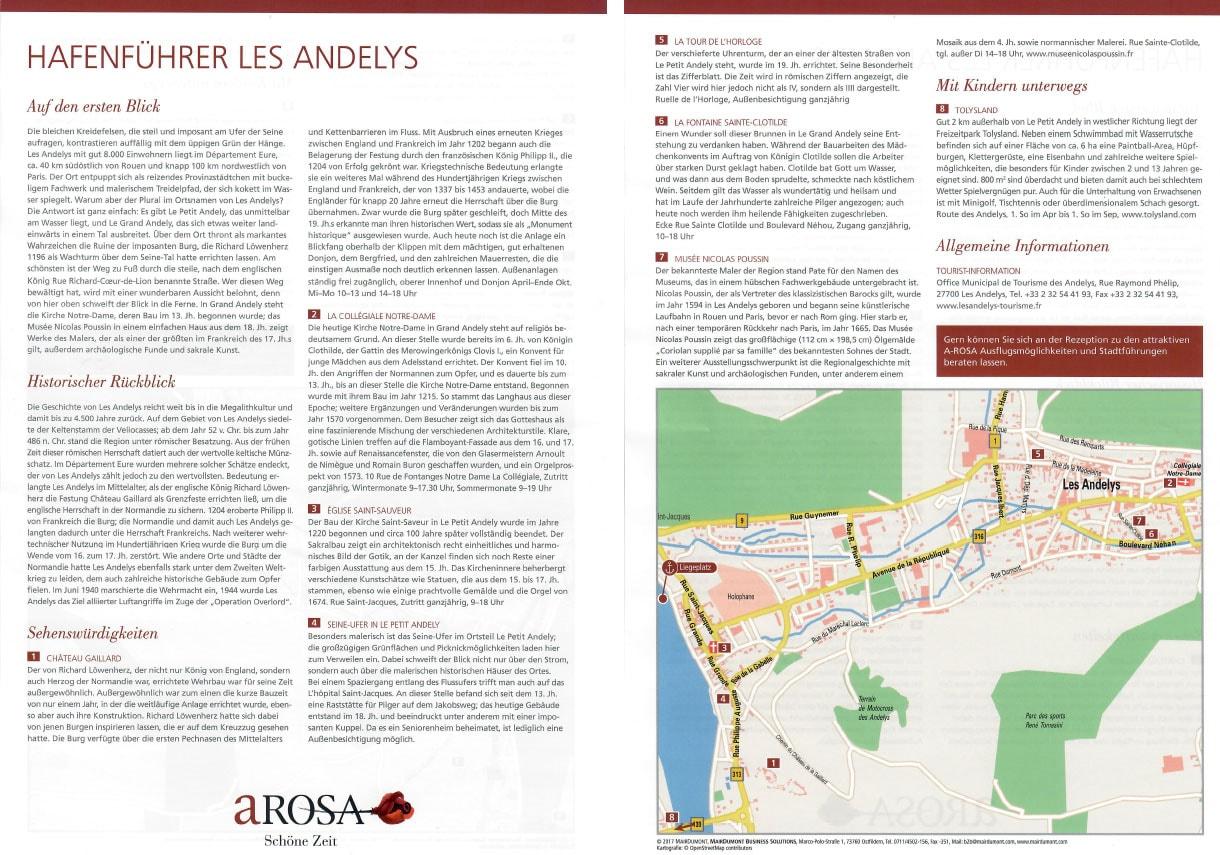A-ROSA Hafenführer Les Andelys
