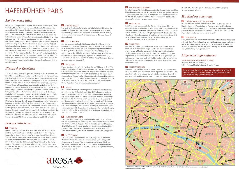 Paris, Hafenführer, A-ROSA, Reisebericht, Seine Flusskreuzfahrt