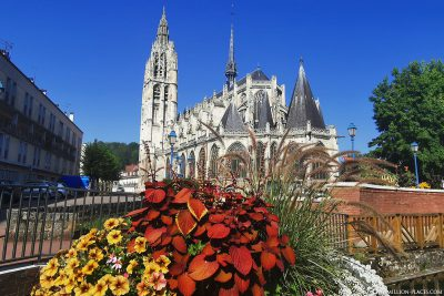 The Eglise Notre-Dame