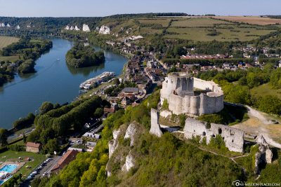 Chateau Gaillard and Le Petit Andely