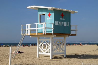 Lifeguard Turm am Strand