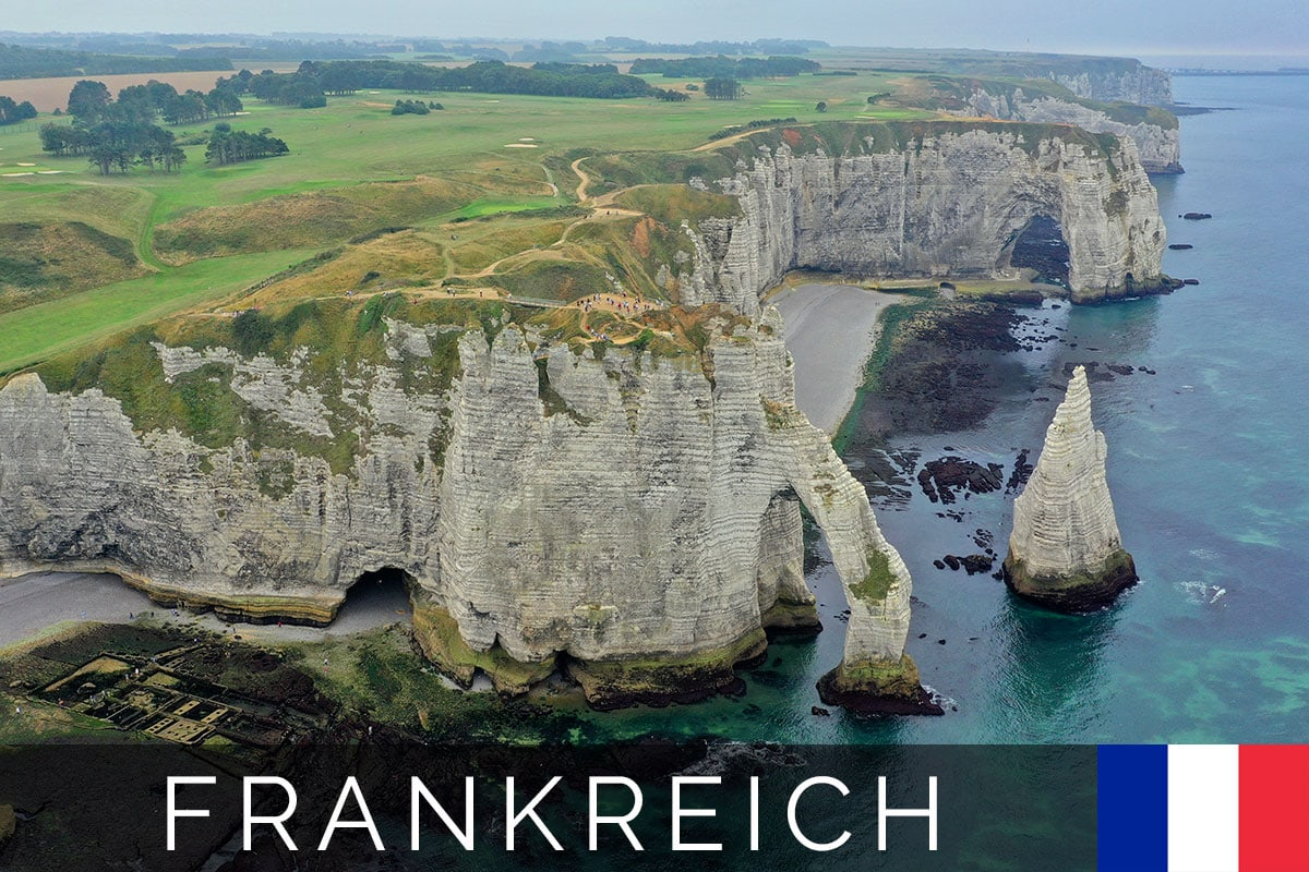 Titelbild, Étretat, Tagesausflug, Sehenswürdigkeiten, Fotospot, Frankreich, Atlantikküste, Reisebericht