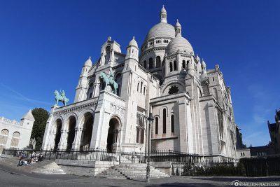 Die Basilica Sacré-Coeur de Montmartre