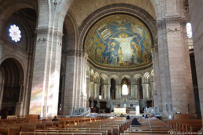 Innenansicht der Basilika Sacré-Coeur