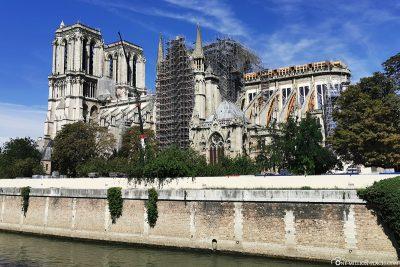 Die Kathedrale von Südosten