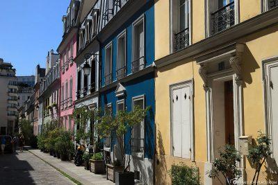 Die bunte Rue Crémieux