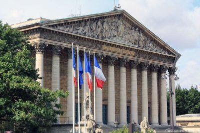 Das Palais Bourbon
