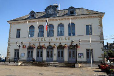 Das Rathaus vno Honfleur (Hôtel de Ville)
