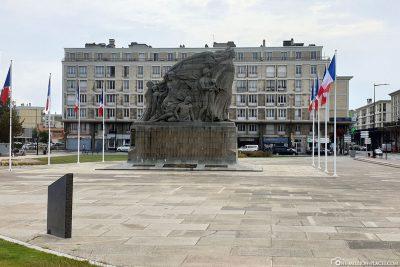 Der Place General de Gaulle