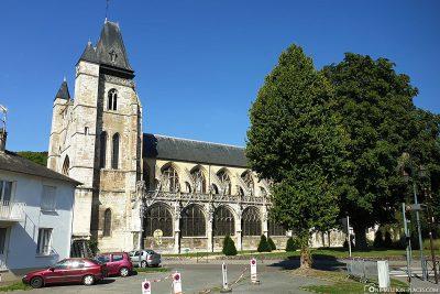 Die Stiftskirche Notre-Dame-du-Grand-Andely