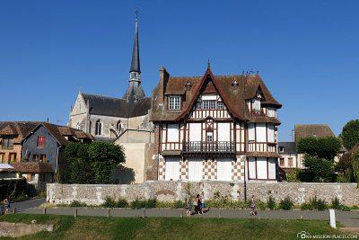 Fachwerkhäuser in Le Petit Andely