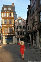 Half-timbered houses in the Old Town
