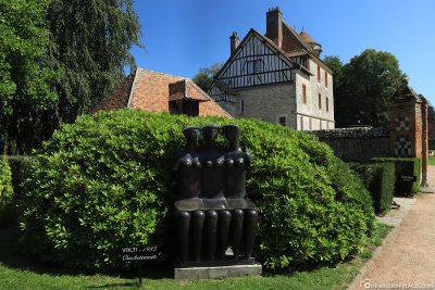 Der Skulpturenpark des Chateau de Vascoeuil