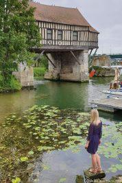 Blick auf die alte Mühle