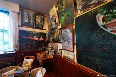 Das Wohnhaus von Claude Monet