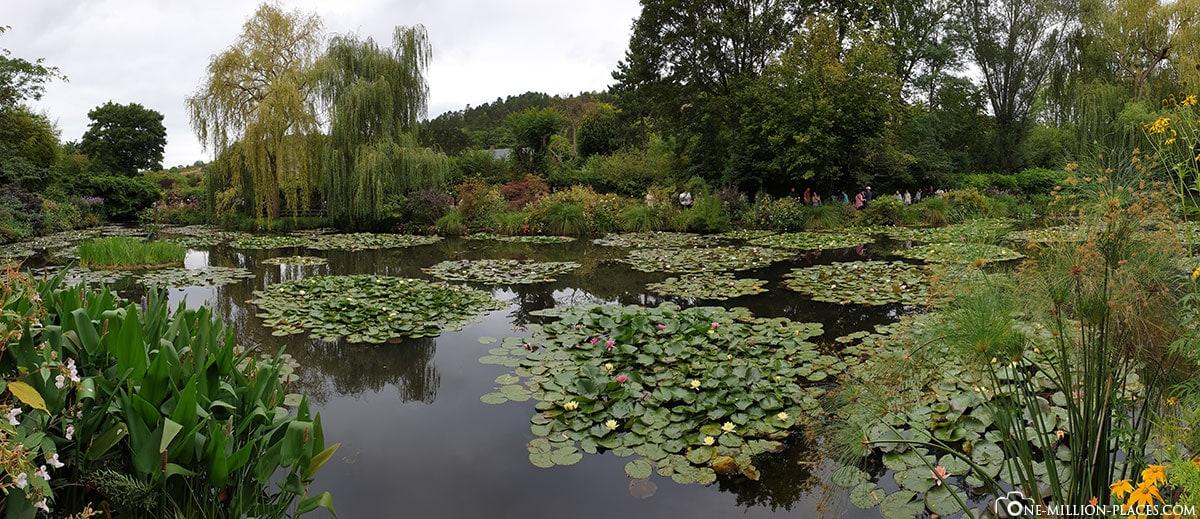 Monet, Seerosenteich, Panorama, Giverny, Frankreich