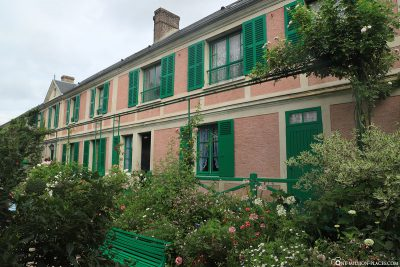 Monets Wohnhaus in Giverny